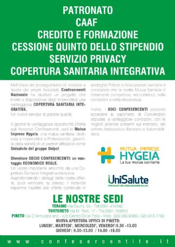 OPEN DAY - 24 SETTEMBRE 2018 - SEDE PINETO